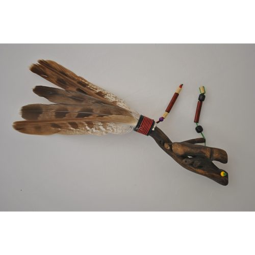 image of smudging fan